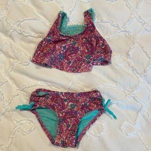 Hula Star purple bikini